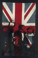 VeeBee Pink Floyd on Vintage Union Jack XL Shine on you crazy diamond