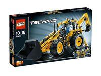LEGO® TECHNIC 8069 Baggerlader Neu OVP_Backhoe Loader NEW MISB NRFB