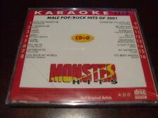 Monster Hits Karaoke Cd+G 1113 Male Pop Rock Hits 2001 Sealed