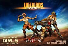 Raging Heroes The Jailbirds Heavy Weapons Team #03