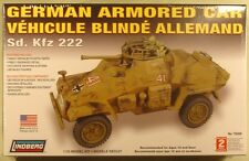 1/35 German Sd. Kfz 222 Armored Car Lindberg new sealed kit