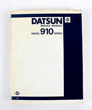 Nissan Bluebird 910 Sept 1982 factory workshop manual