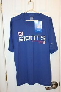 blue New York Giants Reebok graphic t-shirt (NWT) - adult large / L