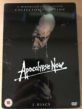 Apocalypse Now Dvd Steelbook Redux & Theatrical Cuts Rare Ltd Ed Uk 2-Disc