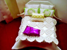Comforter Set for 1:12 SCALE DOLLHOUSE BED - Handmade