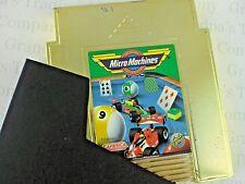 Vintage Micro Machines Gold NES Cartridge Sleeve Unlicensed Nintendo Camerica