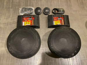 """Boston Acoustics Pro Series 6.5 Old School Component System 6-1/2"""" Proseries"""