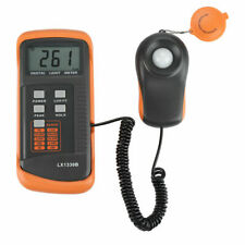 Digital Illuminance/Light Meter LX1330B , 0 - 200,000 Lux Luxmeter Black+Orange.