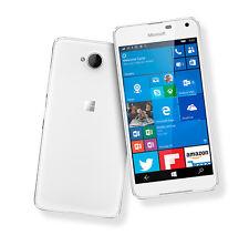 Nuovo di Zecca Microsoft Lumia 650 16GB * DUAL SIM * 4G LTE bianco Smartphone Sbloccato