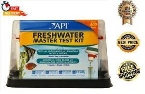 NEW API FRESHWATER MASTER TEST KIT - PH, AMMONIA, NITRITE, NITRATE - FREE SHIP
