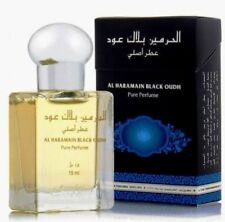 Black Oudh 15ml Perfume Oil Arabian Attar Itr Oud By Al Haramain NEW