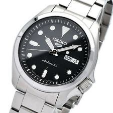New SEIKO 5 SBSA045 Automatic 40mm Black Dial 24 Jewels Japan Made