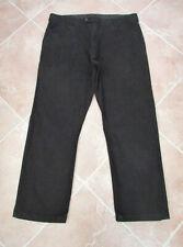 "48/""Waist 32/""Leg. Brown Canvas Jeans From Ed Baxter 100/% Cotton"