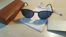 Oliver Peoples Keston Brand NEW with Case. Matte Blk/ Tortoise W/ Indigo Lenses