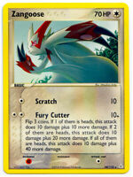 Zangoose 34/110 Rare Non Holo EX Holon Phantoms Pokemon Card NM+ With Tracking