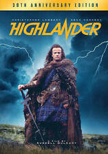 Highlander (DVD, 2016, 2-Disc Set, 30th Anniversary)
