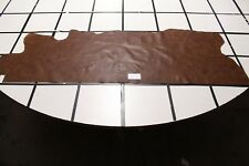 """""""Malino"""" Brown Scrap Leather Hide w/a Hint of Red Approx. 11 sqft. G96X12-5"""