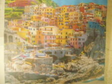 Traveling Twins Beautiful Places Shower Curtain New Scene is Cinque Terre, Italy