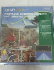 "Orbit Portable Outdoor Cooling 1/4"" Misting System Summer Model 20066"