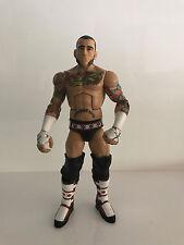 CM Punk Elite WWE Toys R Us Exclusive TRU BAF Build a Figure Toys R Us Jim Ross