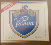 VINTAGE CANADIAN BEER LABEL - CARLING O'KEEFE BREWERY, VIENNA LAGER 625 ML