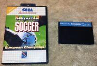 Sensible Soccer - Jeu Sega Master System (PAL) - Sans Notice