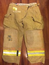 Firefighter Honeywell Morning Pride Turnout Bunker Pants 36x28 Costume Used