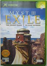 Myst III Exile. XBox. Fisico.