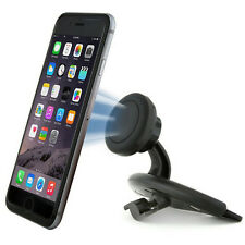 360º Magnetic Car CD Dash Slot Mount Holder Cradle for iPhone Cell Phone GPS