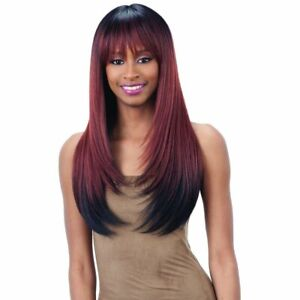 FreeTress Equal 100% Hand-Tied Italian Lace Front Wig With Bangs – Brisa