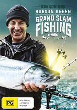 Robson Green - Grand Slam Fishing : Season 1 (DVD, 2018, 3-Disc Set), NEW R4