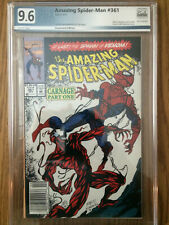Amazing Spiderman 361 PGX 9.6 NM+  First Appearance of Carnage!