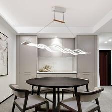 60w LED Lustre de salle à manger lounge Lumière suspension blanc froid acrylique