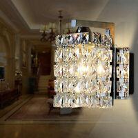 Modern Crystal LED Wall Lights Sconce Aisle/Bedside light Fixtures Wall lamp