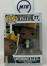 Funko Pop Rocks The Notorious B.I.G. Biggie Smalls With Crown 77 no toy tokyo