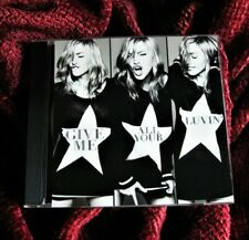 Madonna GIVE ME ALL YOUR LUVIN' Big Box US PROMO CD Single MDNA Superbowl QUEEN