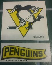 Vintage Pittsburgh Penguins Sticker or tattoo NHL Collectible hockey Crosby
