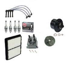 Tune Up Kit Filters,Cap,Rotor,NGK Wires & Plugs for Honda Civic EX Si D16Z6 VTec