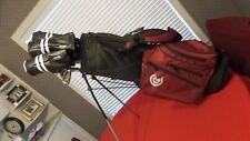 Cleveland Launcher Vas+ Complete Golf Set Irons Woods Bag Stiff Men Right Handed