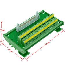 IDC50 50pin Header Breakout Board Terminal Block Connector PLC adapter Interface
