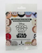Disney Pin Collectible STAR WARS TSUM TSUM  #3  Mystery Random SEALED Set of 5