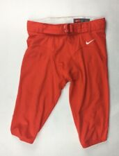 Nike University of Miami Hurricanes Football Game Pants Men's L Orange 659172
