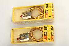 Brawa 9041 2 pièce Ampoule Rouge & VERSION NICE tungstène -verm. jamais utilisé