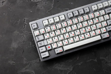 Japanese Root Font Dye Sub Keycap Set PBT for gh60 xd60 xd84 cospad tada68 rs96
