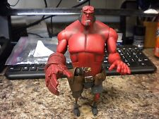 "MEZCO HELLBOY ANIMATED 6 1/2"" 2007 SMALL LEG OPEN HAND GENTAL GIANT VARIANT"