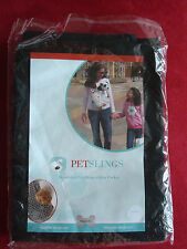 New Petsling, black, reversible with pocket