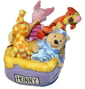 "Disney Bean Bag Plush Pooh Honey Vehicle, NWT, WDW , 11"""