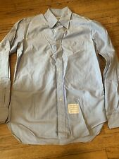 Thom Browne Oxford Button-down Shirt In Light Blue Size 4 XL