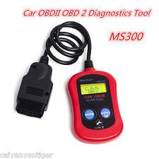 MS300 OBDII Scanner Code Reader CAN OBD2 Car Scan Diagnostic Tool Fault Decoder