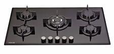MILLAR GH9051PB 5 Burner Built-in Gas on Glass Hob 90cm with Wok Burner